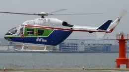 舞洲ヘリポート - Maishima Heliportで撮影された日本法人所有 - Japanese Company Ownershipの航空機写真