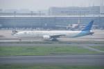 kumagorouさんが、羽田空港で撮影したガルーダ・インドネシア航空 777-3U3/ERの航空フォト(飛行機 写真・画像)