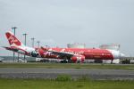くーぺいさんが、新千歳空港で撮影したエアアジア・エックス A330-343Xの航空フォト(写真)