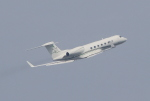 キイロイトリさんが、羽田空港で撮影したメキシコ企業所有 G-V-SP Gulfstream G550の航空フォト(写真)