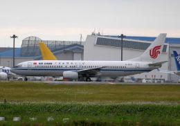 雲霧さんが、成田国際空港で撮影した中国国際航空 737-86Nの航空フォト(飛行機 写真・画像)