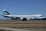 Scotchさんが、名古屋飛行場で撮影したキャセイパシフィック航空 747-267Bの航空フォト(写真)