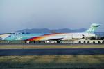 Scotchさんが、名古屋飛行場で撮影した日本エアシステム MD-90-30の航空フォト(写真)