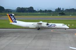 resocha747さんが、鹿児島空港で撮影した日本エアコミューター DHC-8-402Q Dash 8の航空フォト(写真)
