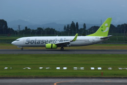 resocha747さんが、鹿児島空港で撮影したソラシド エア 737-86Nの航空フォト(写真)
