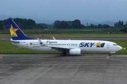 resocha747さんが、鹿児島空港で撮影したスカイマーク 737-81Dの航空フォト(写真)