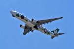 T.Sazenさんが、関西国際空港で撮影したエバー航空 A330-302Xの航空フォト(飛行機 写真・画像)