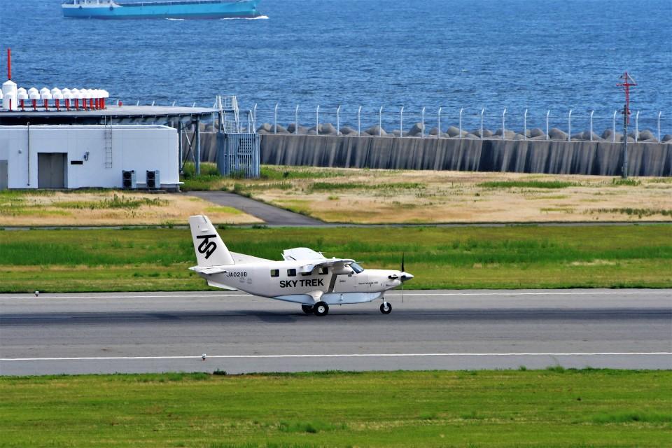 T.Sazenさんのスカイトレック Quest Kodiak (JA02GB) 航空フォト