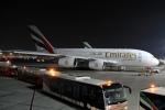 ウッディーさんが、ドバイ国際空港で撮影したエミレーツ航空 A380-861の航空フォト(写真)