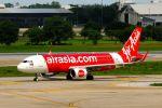 まいけるさんが、ドンムアン空港で撮影したタイ・エアアジア A320-216の航空フォト(写真)