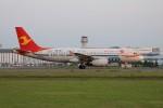 北の熊さんが、新千歳空港で撮影した天津航空 A320-232の航空フォト(写真)