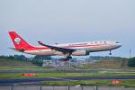 パンダさんが、成田国際空港で撮影した四川航空 A330-243の航空フォト(写真)