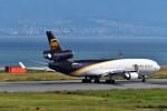 T.Sazenさんが、関西国際空港で撮影したUPS航空 MD-11Fの航空フォト(飛行機 写真・画像)