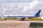 菊池 正人さんが、パリ シャルル・ド・ゴール国際空港で撮影したオリンピック航空 A340-313Xの航空フォト(写真)