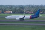 かずまっくすさんが、スカルノハッタ国際空港で撮影したスリウィジャヤ航空 737-8K5の航空フォト(写真)