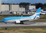 Bokuranさんが、ペインフィールド空港で撮影したアルゼンチン航空 737-7Q8の航空フォト(写真)