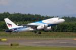 北の熊さんが、新千歳空港で撮影したバンコクエアウェイズ A319-132の航空フォト(写真)