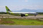 北の熊さんが、新千歳空港で撮影したジンエアー 737-86Nの航空フォト(写真)