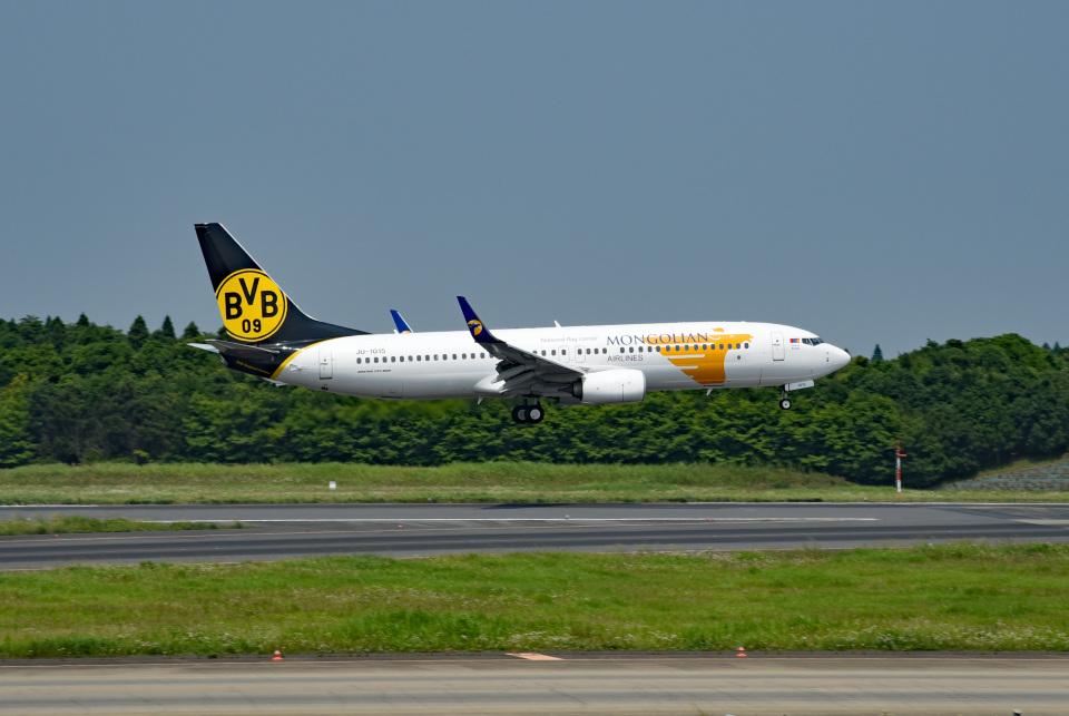 tsubasa0624さんのMIATモンゴル航空 Boeing 737-800 (JU-1015) 航空フォト
