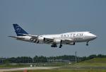 tsubasa0624さんが、成田国際空港で撮影したチャイナエアライン 747-409の航空フォト(飛行機 写真・画像)