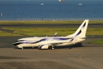 twining07さんが、羽田空港で撮影したインターナショナル・ジェットクラブ 737-7GV BBJの航空フォト(写真)