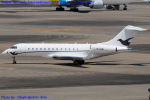 Chofu Spotter Ariaさんが、羽田空港で撮影したGama アビエーション BD-700-1A10 Global Expressの航空フォト(飛行機 写真・画像)