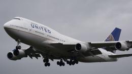 てつさんが、成田国際空港で撮影したユナイテッド航空 747-422の航空フォト(飛行機 写真・画像)