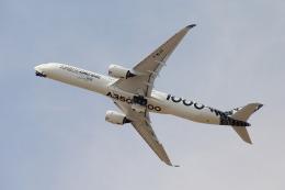 Hikobouzさんが、ル・ブールジェ空港で撮影したエアバス A350-1041の航空フォト(飛行機 写真・画像)
