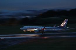 tutomuさんが、岡山空港で撮影した全日空 737-881の航空フォト(飛行機 写真・画像)