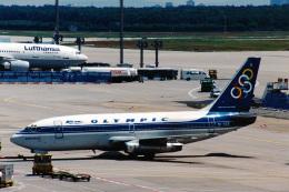 菊池 正人さんが、フランクフルト国際空港で撮影したオリンピック航空 737-284/Advの航空フォト(飛行機 写真・画像)