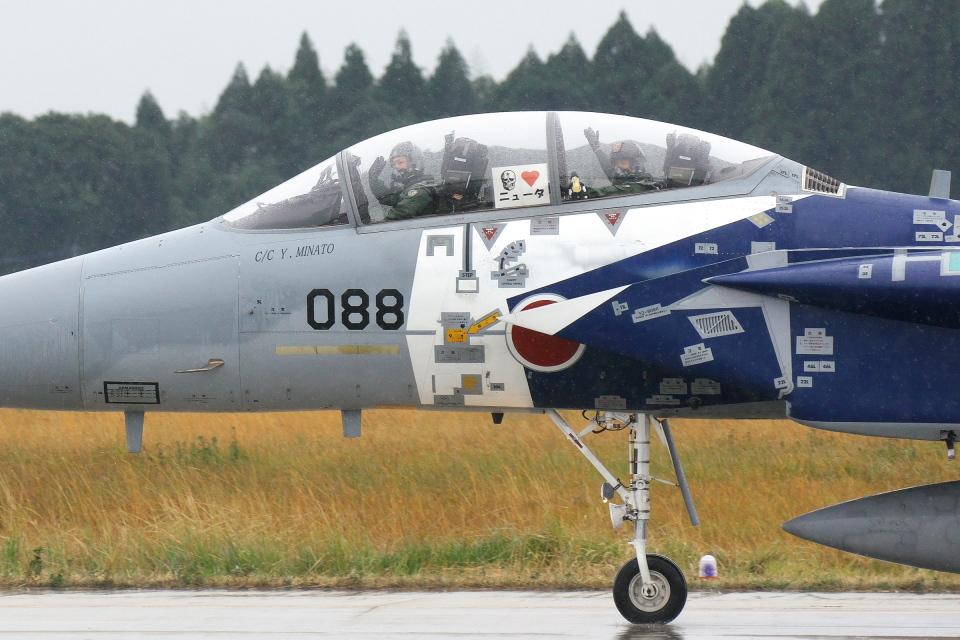 kanade/Ryo@S.O.R.A.さんの航空自衛隊 Mitsubishi F-15DJ Eagle (52-8088) 航空フォト