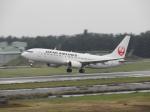 おっつんさんが、小松空港で撮影した日本航空 737-846の航空フォト(飛行機 写真・画像)