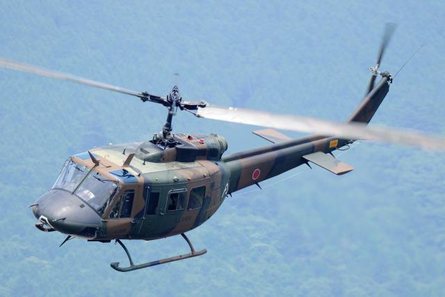 もっはさんが、富士駐屯地で撮影した陸上自衛隊 UH-1Jの航空フォト(飛行機 写真・画像)