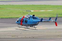 yabyanさんが、名古屋飛行場で撮影した神奈川県警察 206L-4 LongRanger IVの航空フォト(飛行機 写真・画像)
