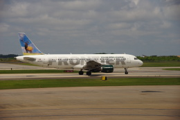 takeshifangさんが、シャーロット ダグラス国際空港で撮影したフロンティア航空 A320-214の航空フォト(飛行機 写真・画像)
