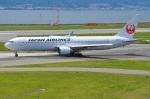 amagoさんが、関西国際空港で撮影した日本航空 767-346/ERの航空フォト(写真)
