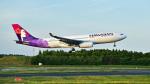 パンダさんが、成田国際空港で撮影したハワイアン航空 A330-243の航空フォト(飛行機 写真・画像)