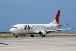 もぐ3さんが、那覇空港で撮影した日本トランスオーシャン航空 737-4Q3の航空フォト(写真)