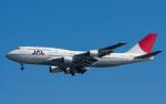 airbandさんが、羽田空港で撮影した日本航空 747-446Dの航空フォト(写真)