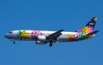 airbandさんが、羽田空港で撮影したスカイネットアジア航空 737-4Y0の航空フォト(写真)