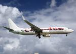 Bokuranさんが、プリンセス・ジュリアナ国際空港で撮影したカリビアン航空 737-8Q8の航空フォト(写真)