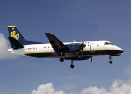Bokuranさんが、プリンセス・ジュリアナ国際空港で撮影したシーボーン・エアラインズ 340Bの航空フォト(飛行機 写真・画像)