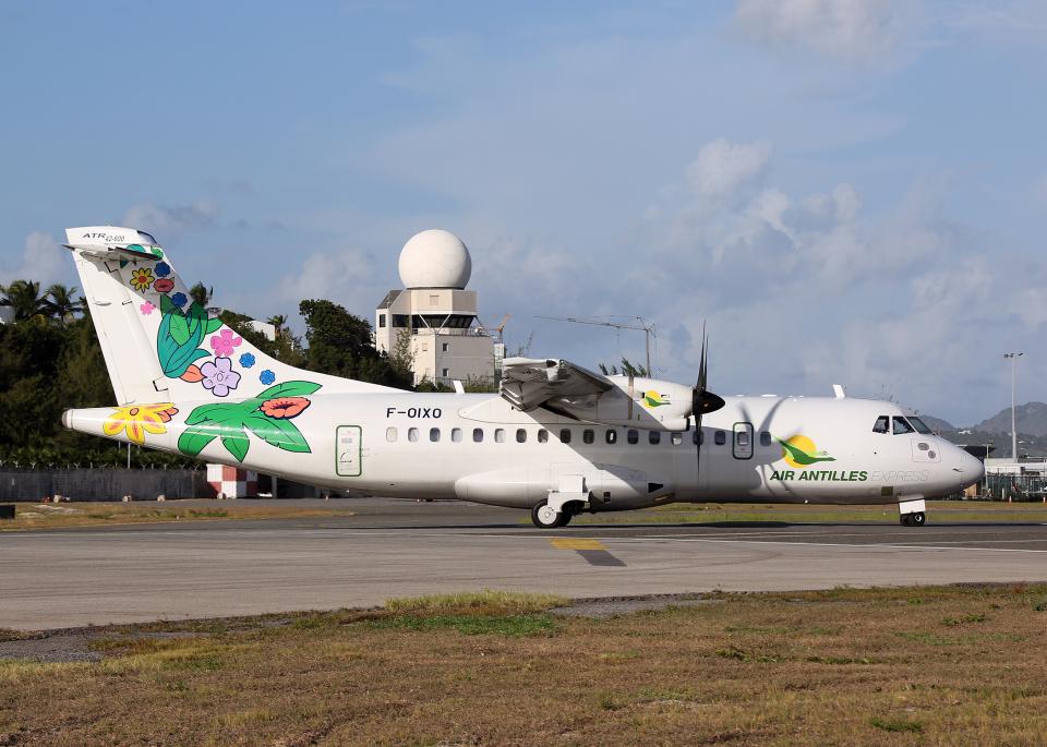 Bokuranさんのエア・アンティル・エクスプレス ATR 42 (F-OIXO) 航空フォト