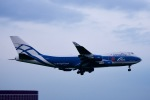 shiraponさんが、成田国際空港で撮影したエアブリッジ・カーゴ・エアラインズ 747-4EVF/ER/SCDの航空フォト(写真)