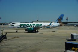takeshifangさんが、シャーロット ダグラス国際空港で撮影したフロンティア航空 A320-251Nの航空フォト(飛行機 写真・画像)