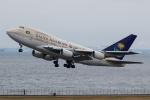 Gyoza_さんが、羽田空港で撮影したサウジアラビア王国政府 747SP-68の航空フォト(写真)