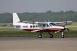 北の熊さんが、新千歳空港で撮影したレンジフライヤーズ 208 Caravan Iの航空フォト(写真)