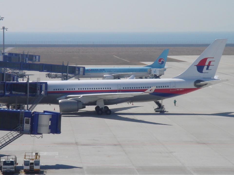 yabyanさんのマレーシア航空 Boeing 737-800 (9M-MXV) 航空フォト