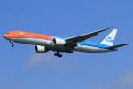 たっくさんが、成田国際空港で撮影したKLMオランダ航空 777-306/ERの航空フォト(写真)