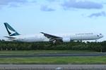 たっくさんが、成田国際空港で撮影したキャセイパシフィック航空 777-367の航空フォト(写真)
